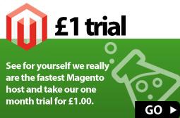 magento trial hosting